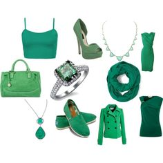 light spring green by lightspringgirl on Polyvore featuring Topshop, MICHAEL Michael Kors, TOMS, Steve Madden, Vintage Princess, Mystic Light and House of Harlow 1960