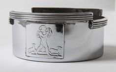 Rockwell Kent For Chase Bacchus Machine Age Wine Cooler And Bottle Stand image 6