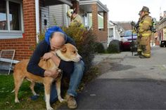 "Adopted dog saves owner and home from fire--  ""Today, he turned out to be my best friend,"" George Rodgers said. ""If it wasn't for him, I probably wouldn't be here."""