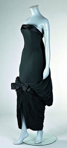 A fine Jean Desses evening gown, circa 1960