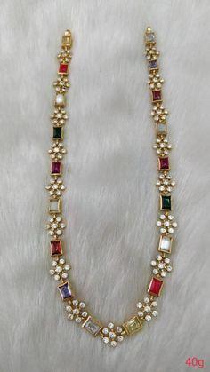 Zirkonia Verlobungsringe Set in Sterling Silber Gold Jewellery Design, Indian Gold Jewellery, Temple Jewellery, Gold Jewelry Simple, Beaded Jewelry, Bridal Jewelry Pearls, Flower Jewelry, Silver Jewelry, Fashion Jewelry