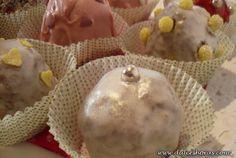 Bolas de Navidad de Old Fashioned Choc-Cupcakes