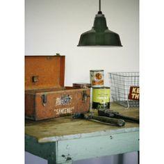 Ivanhoe™ Esso Warehouse Porcelain Pendant | Barn Light Electric $131