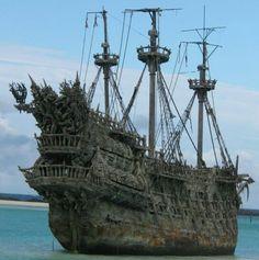 Pirate Ship - Flying Duchman by Tom Allmon