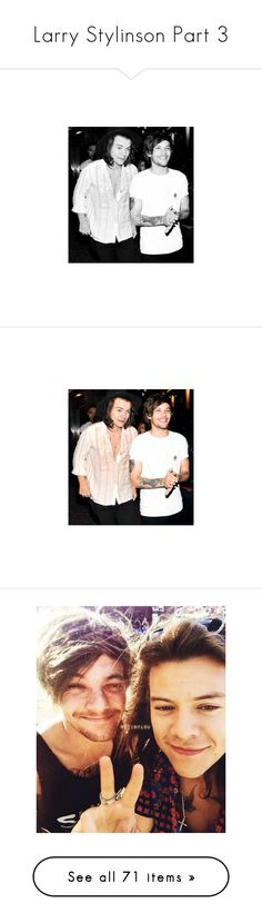 """Larry Stylinson Part 3"" by hxrnyboys ❤ liked on Polyvore featuring accessories, larry, one direction, harry styles, instagram, pictures, larry stylinson, 1d, harry and louis"