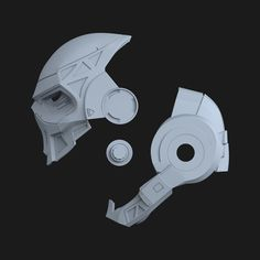 "ArtStation - Taskmaster Helmet for Cosplay Suit from the game ""Marvel's Spider-Man Wladimir Kovalenko Motorcycle Helmet Design, Women Motorcycle, Spider Man 2018, Epic Costumes, Ducati Monster Custom, 3d Printing Diy, 3d Printer Designs, 3d Printable Models, Cool Masks"
