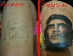 Tatuaje de Che Guevara realizado en nuestro centro de Montera de Madrid.  #tattoo #tattoos #tattooed #tattooing #tattooist #tattooart #tattooshop #tattoolife #tattooartist #tattoodesign #tattooedgirls #tattoosketch #tattooideas #tattoooftheday #tattooer #tattoogirl #tattooink #tattoolove #tattootime #tattooflash #tattooedgirl #tattooedmen #tattooaddict#tattoostudio #tattoolover #tattoolovers #tattooedwomen#tattooedlife #tattoostyle #tatuajes #tatuajesmadrid #ink #inktober #inktattoo