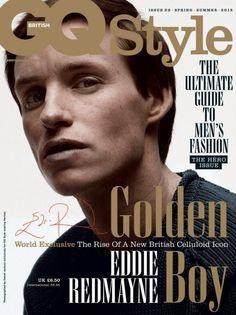 Eddie Redmayne GQ Style UK Spring Summer 2015