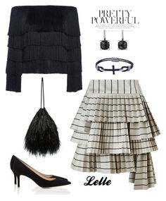 """""""A.L.C. Andrie Fringed Sweater"""" by lellelelle on Polyvore featuring Barneys New York, Zimmermann, A.L.C., Attico and David Yurman"""