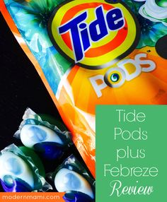 Try Tide Pods plus Febreze to help make your laundry routine easier! Our Tide Pods detergent review shares the convenience of this 4-in-1 detergent!