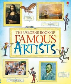 Book of Famous Artists by Rosie Dickins,http://www.amazon.com/dp/140957041X/ref=cm_sw_r_pi_dp_5V4ntb048B6RW2MY