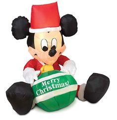 7 airblown inflatable waving reindeer christmas inflatable christmas decor pinterest christmas inflatables and christmas decor - Mickey Mouse Christmas Blow Up