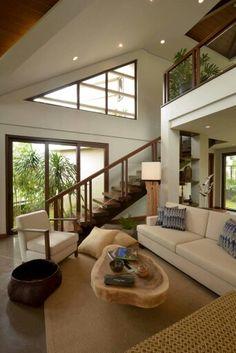 Dream Home Design, My Dream Home, Home Interior Design, Interior Architecture, Minimalist House Design, Minimalist Home, Modern House Design, Modern Tropical House, Tropical House Design