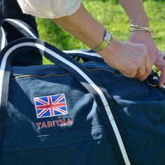 personalised weekend bag for men