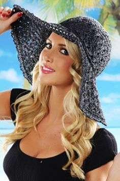 Awesome Summer Crochet Hats to Compliment your Crochet Outfits from www.savedbythedress.com #fashion #summertrends #crochethat