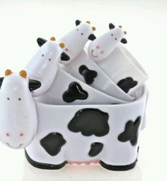 Koe borden #cups #cow #design                                                                                                                                                                                 More