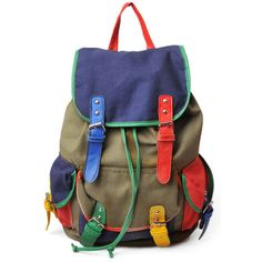 Color Contrast Rucksack and other apparel, accessories and trends. Browse and shop 14 related looks.