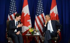 U.S. president Barack Obama and Canadian Prime Minister Justin Trudeau seem to have hit it off on a personal level as one leader prepares to bid farewell to the top job and the other settles into it.