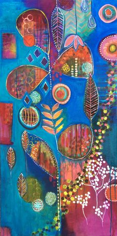 Kiss of Autumn (18 x 36) - Jennifer McHugh
