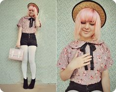DIY Blouse - Remix (by Annika Victoria) http://lookbook.nu/look/3604033-DIY-Blouse-Remix