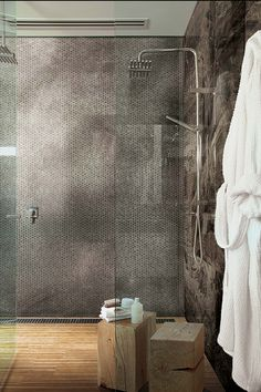 Luxury glass mosaic as shiny wall decors: Extra Light Collection