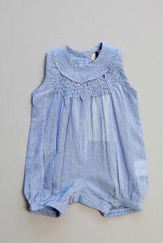 Stella McCartney children's clothing August romper | Hillary Kids