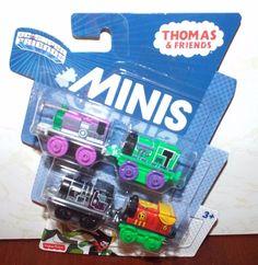 Thomas & Friends DC Super Friends Minis (4 pack) #FisherPrice