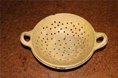 antiek aarden vergiet - aardewerk en porselein | Koopjeskrant.be