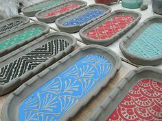 Creative with clay: Pottery by Charan Sachar: New Butter Trays
