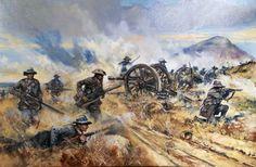 Boer commandos turning the British guns, Boer War Military Art, Military History, South Afrika, Colonial, Early Modern Period, Cartoon Photo, War Film, Film Inspiration, Napoleonic Wars