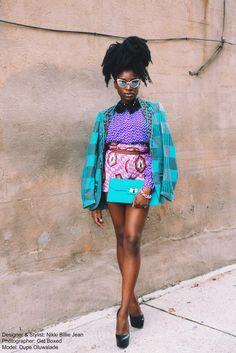 Fashion Designer & Wardrobe Stylist: Nikki Billie Jean Photographer: Get Boxed, Eugene Maddy Model: Dupe Oluwalade Blog Post: http://www.allthingsankara.com/2015/11/all-things-ankara-by-get-boxed-photography.html
