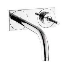 Hansgrohe Axor Uno Chrome 1-Handle 4-In Centerset Watersense Bathroom