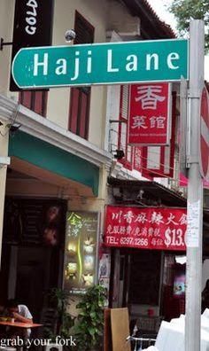 shopping- Haji Lane, Singapore