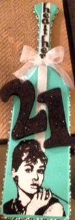 My 21st paddle from my bestie! My idol Audrey & Tiffany & Co