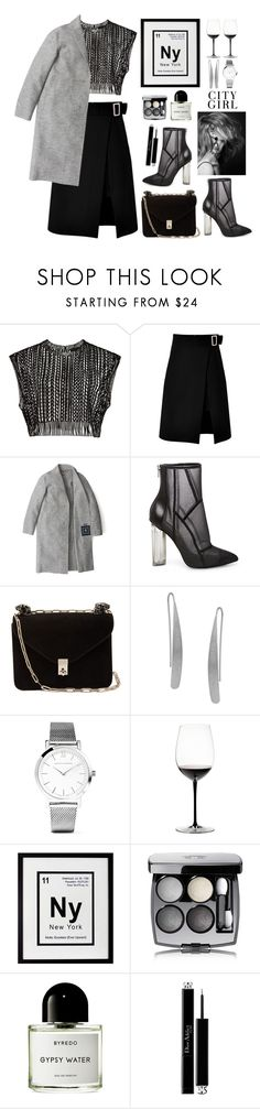"""""""Night Out"""" by wear-do ❤ liked on Polyvore featuring storets, Tommy Hilfiger, Steve Madden, Valentino, Humble Chic, Larsson & Jennings, Riedel, Décor Therapy, H&M and Chanel"""