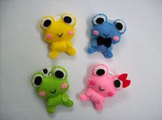 Cute Froggie v2 Keychain/Phone Charm -