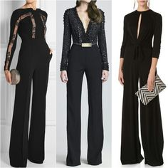 Chic jumpsuits.