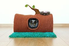 House in the Forest pet cave