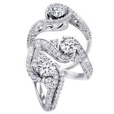 Diamond rings from Diamonds Direct Charlotte Birmingham Raleigh Austin Richmond