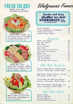 CALUMET 412 — Who wants to meet at Walgreen's for lunch? ...