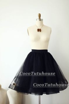 how to make a circle skirt out of tulle