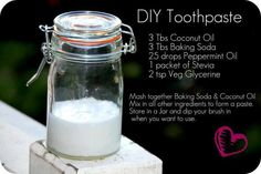 paleo hair, skin and beauty DIY toothpaste recipe