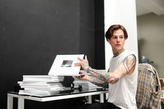 LOS ANGELES, CA - APRIL Musician Jesse Rutherford of 'The Neighbourhood' attends the book launch for '&' at FourTwoFour on Fairfax on April 2016 in Los Angeles, California. (Photo by Emma McIntyre/Getty Images) Jesse Rutherford, Hey Dude, Book Launch, The Book, The Neighbourhood, Devon, Pretty People, Eye Candy, Books