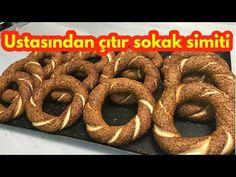 istanbul simiti nasıl yapılır/ simit tarifi - sokak simiti- How to make Turkish crispy bagel - YouTube
