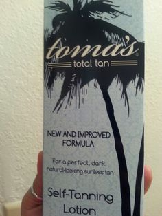 TOMA'S Self-Tanning Lotion I can't say enough good things about this product. It really gives you a natural looking tan vs an orange non attractive looking glow. Apply 2-3 times the first week then 1-2 times every week that follows for maintenance.  I'm natutally tan, however my legs are very pale and this does the trick of not looking fake.  Pick some up at Sally Beauty. Its under $20 and so worth the spend since summer is coming up soon. The bottle will last a fair amount of time as well…