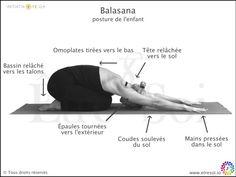 yoga - posture balasana - indications - Être Soi