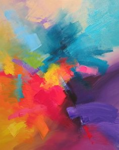 24309 by Martin Figlinski Acrylic ~ 30 x 24 Simple Acrylic Paintings, Abstract Paintings, Abstract Art, Color Harmony, Acrylics, Color Inspiration, Cool Art, Art Gallery, Sculptures