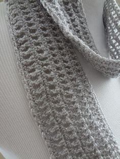Fiber Flux...Adventures in Stitching: Free Crochet Pattern...Silver Dollar Skinny Scarf!