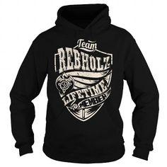 Awesome Tee Team REBHOLZ Lifetime Member (Dragon) - Last Name, Surname T-Shirt T shirts