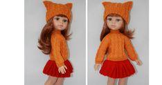 комплект одежды для кукол Paola Reina Золотая осень Журнал 1.pdf